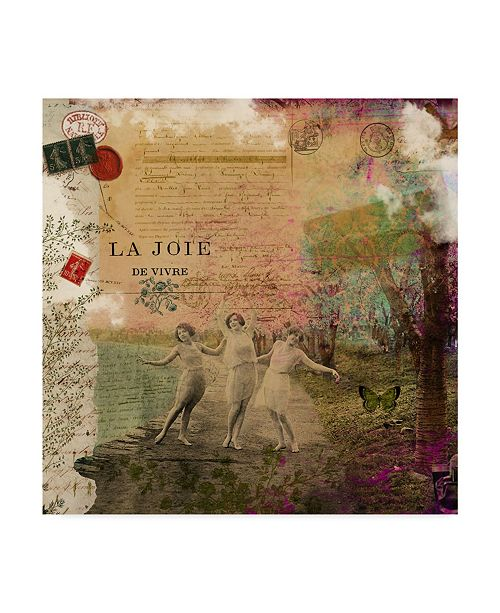 "Trademark Global Sandy Lloyd Femme Paris IX Canvas Art - 15"" x 20"""