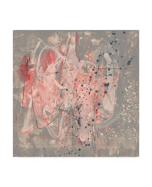 "Trademark Global Jennifer Goldberger Blush Kinesis II Canvas Art - 27"" x 33"""
