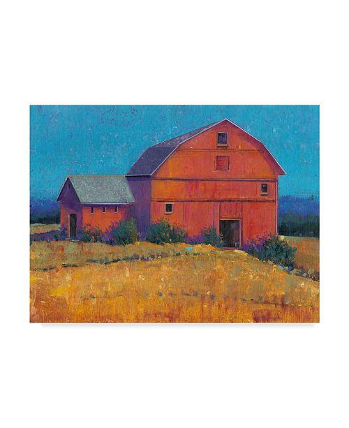 "Trademark Global Tim Otoole Colorful Barn View I Canvas Art - 20"" x 25"""