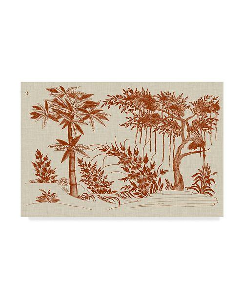"Trademark Global Vision Studio Ornamental Trees Canvas Art - 37"" x 49"""