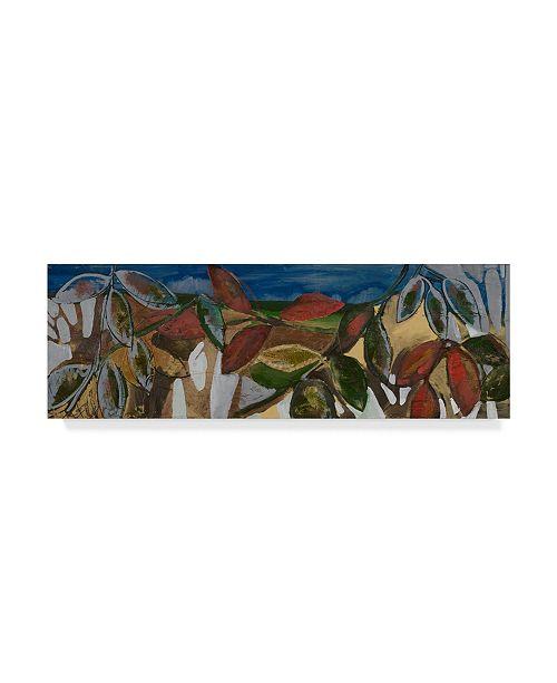 "Trademark Global Erin Mcgee Ferrell Leaf Panel II Canvas Art - 37"" x 49"""