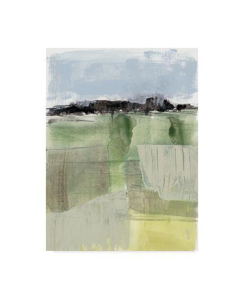 "Trademark Global Jennifer Goldberger Sage Field II Canvas Art - 20"" x 25"""