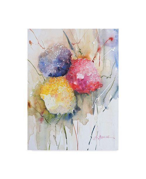 "Trademark Global Leticia Herrera Hortenzzia II Canvas Art - 37"" x 49"""