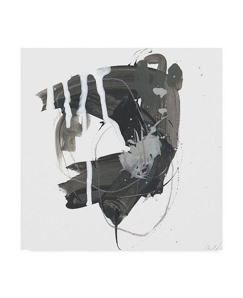 "Trademark Global June Erica Vess Gray Scale II Canvas Art - 15"" x 20"""