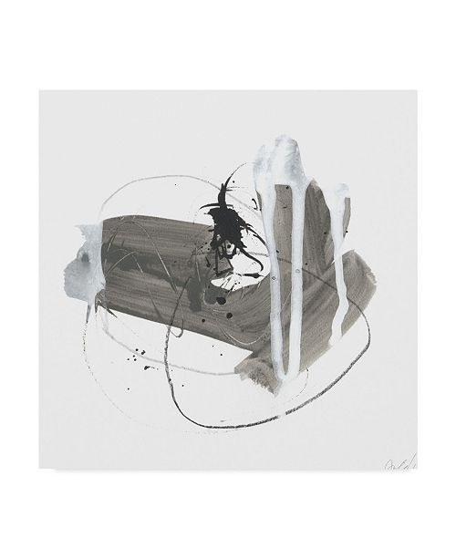 "Trademark Global June Erica Vess Gray Scale IV Canvas Art - 27"" x 33"""