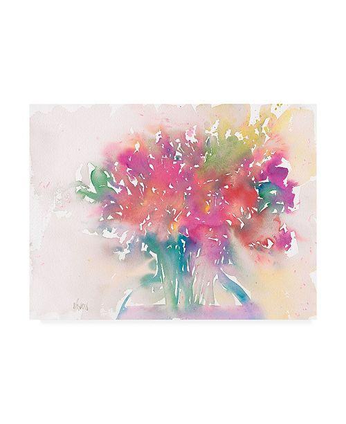 "Trademark Global Samuel Dixon Floral Moment II Canvas Art - 37"" x 49"""