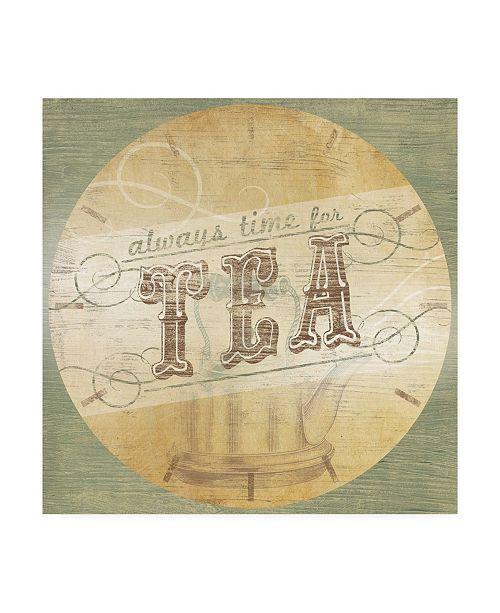 "Trademark Global June Erica Vess Beverage O'Clock II Canvas Art - 27"" x 33"""