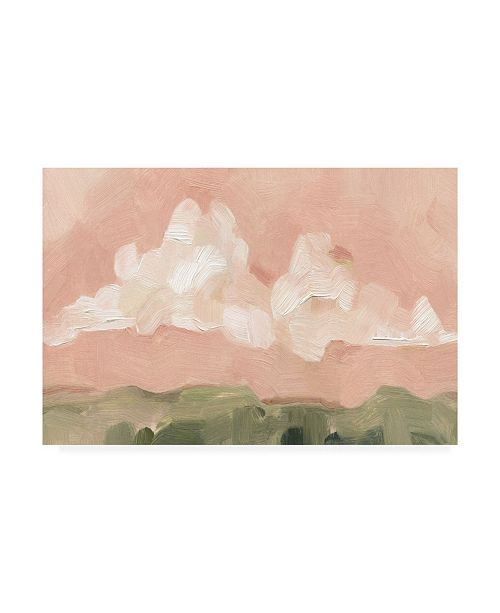 "Trademark Global Emma Scarvey Pink Haze Sunset I Canvas Art - 20"" x 25"""