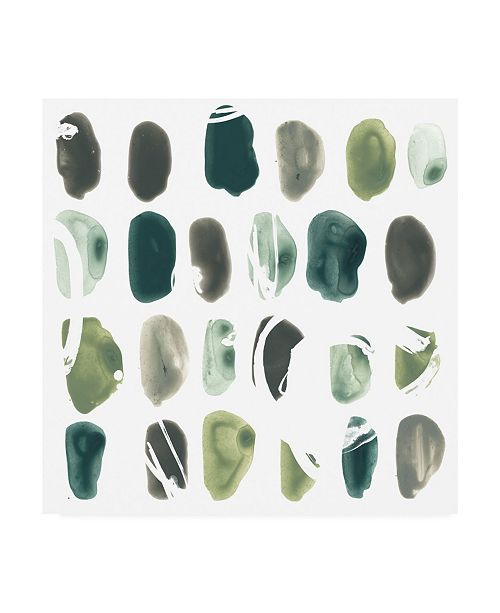 "Trademark Global June Erica Vess Rune Stone I Canvas Art - 15"" x 20"""