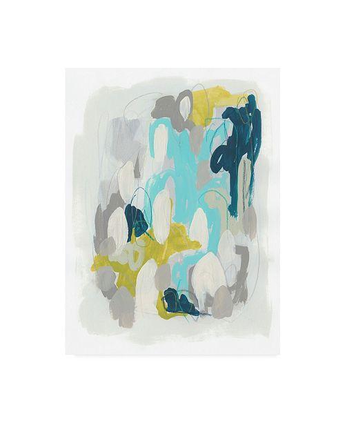 "Trademark Global June Erica Vess Arc Lights I Canvas Art - 37"" x 49"""