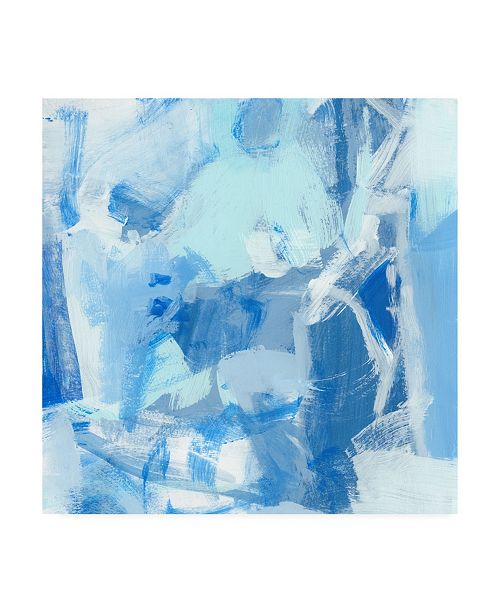 "Trademark Global Christina Long Blue Light I Canvas Art - 15"" x 20"""