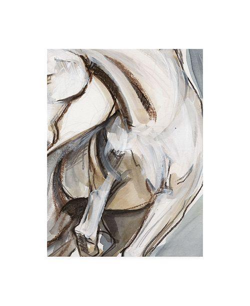 "Trademark Global Jennifer Paxton Parker Horse Abstraction II Canvas Art - 20"" x 25"""