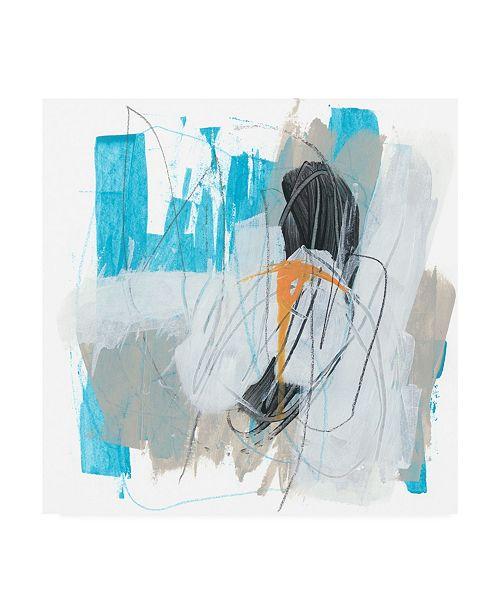 "Trademark Global June Erica Vess Symphony in Riffs III Canvas Art - 27"" x 33"""