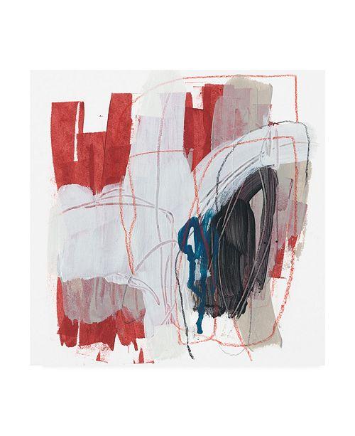 "Trademark Global June Erica Vess Symphony in Riffs VIII Canvas Art - 27"" x 33"""
