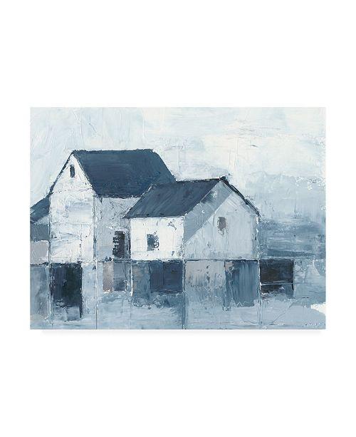 "Trademark Global Ethan Harper Indigo Barns I Canvas Art - 15"" x 20"""
