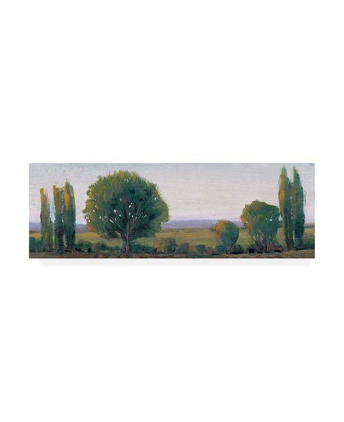 "Trademark Global Tim Otoole Panoramic Tree Line I Canvas Art - 15"" x 20"""