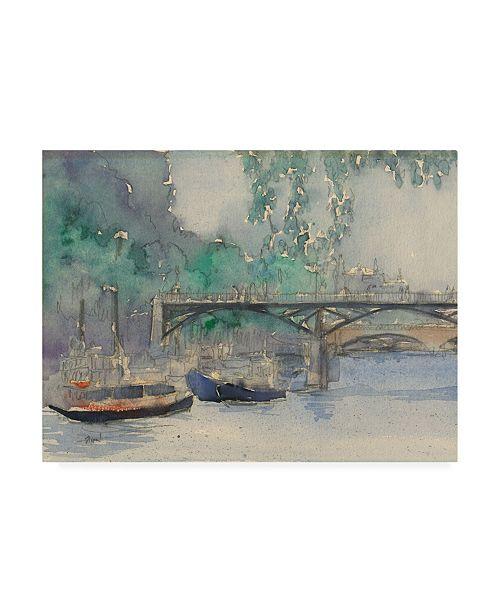 """Trademark Global Samuel Dixon Venice Watercolors V Canvas Art - 37"""" x 49"""""""