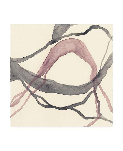 """Trademark Global Renee W. Stramel Rivulets III Canvas Art - 27"""" x 33"""""""
