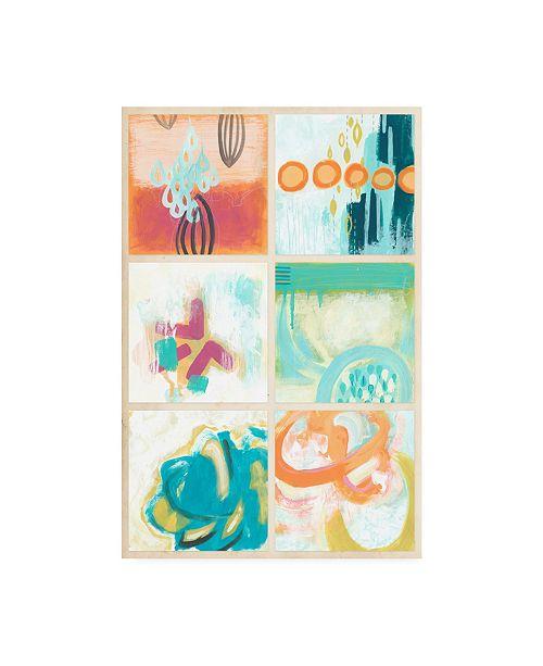 """Trademark Global June Erica Vess Gallery Petite III Canvas Art - 20"""" x 25"""""""