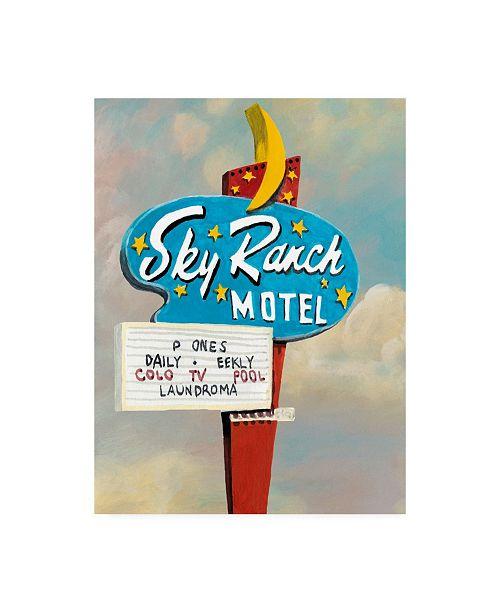"Trademark Global Naomi Mccavitt American Roadside III Canvas Art - 20"" x 25"""