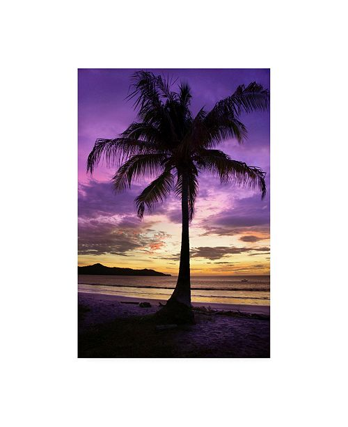 "Trademark Global Winthrope Hier Brasalito Bay, Costa Rica Canvas Art - 15.5"" x 21"""