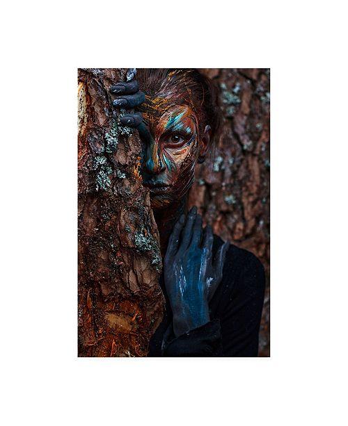 "Trademark Global Ivan Kovalev Keeper of the Wood Canvas Art - 19.5"" x 26"""