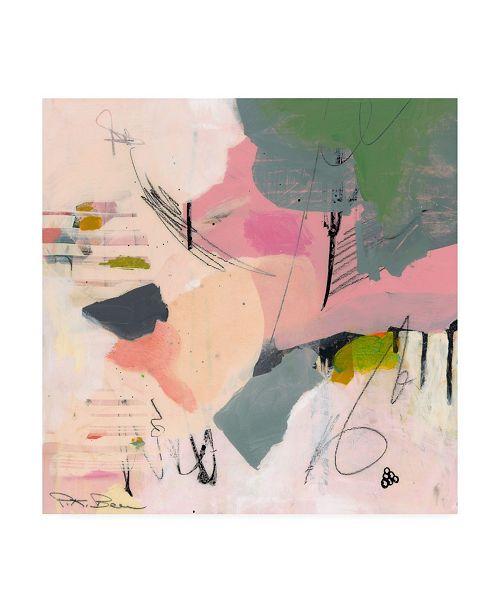 """Trademark Global Pamela K. Beer Sylvan Zephyr No. 1 Canvas Art - 15.5"""" x 21"""""""