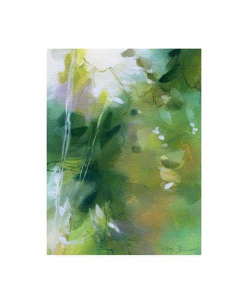 "Trademark Global Elisa Sheehan Verdant Shallows I Canvas Art - 27"" x 33.5"""