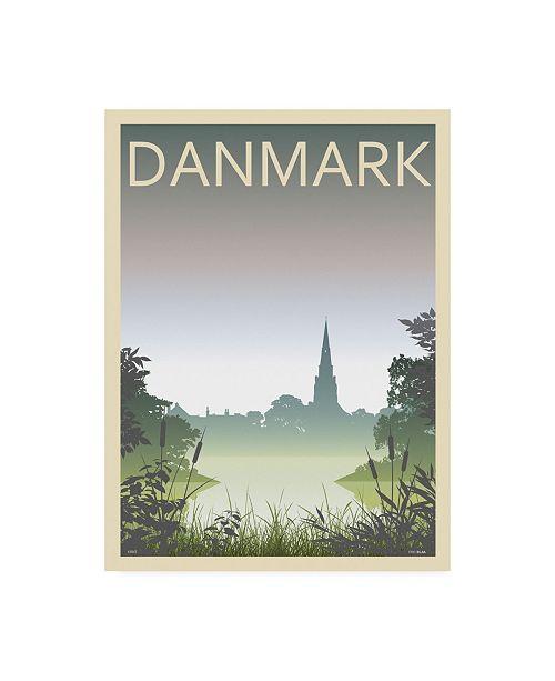 "Trademark Global Incado Church Danmark Canvas Art - 27"" x 33.5"""