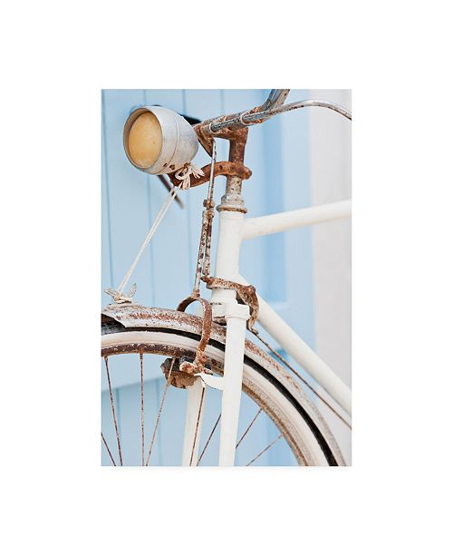 "Trademark Global PhotoINC Studio Old Bike Light Canvas Art - 19.5"" x 26"""