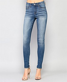 High Rise Super Stretch Skinny Jeans