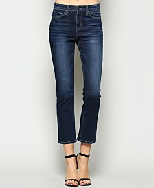 Flying Monkey High Rise Crop Bootcut Jeans