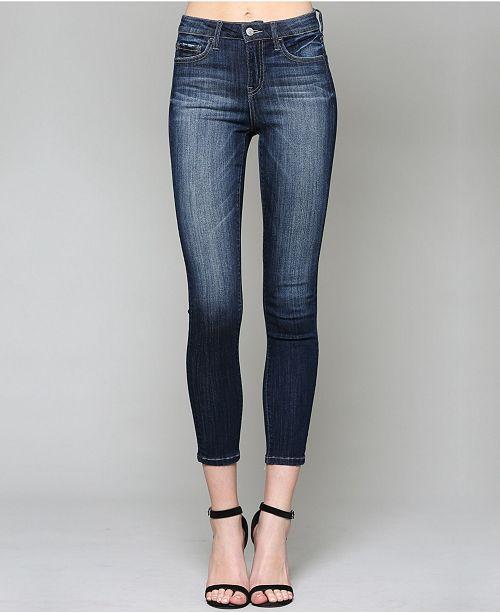 VERVET Mid Rise Crop Skinny Jeans