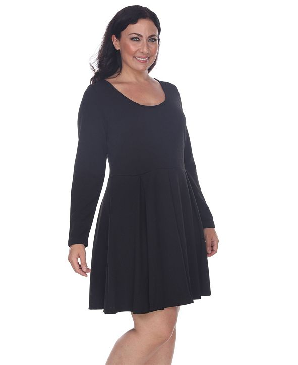 White Mark Women's Plus Size Jenara Dress