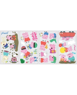 Peppa the Pig Peel and Stick Wall Decals