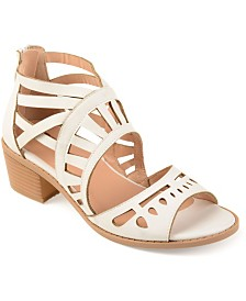 Journee Collection Women's Dexy Sandals