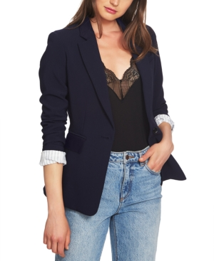 Image of 1.state Classic Crepe One-Button Jacket