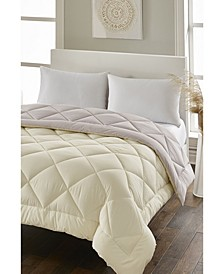 Loftworks High-loft All Season White Goose Down Alternative Comforter Reversible - Full/Queen
