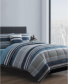 Brody 8-Pc. King Bed in a Bag Comforter Set