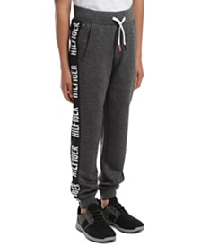 Tommy Hilfiger Big Boys Shango Side Stripe Fleece Sweatpants