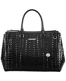 Brahmin Blake La Scala Leather Satchel