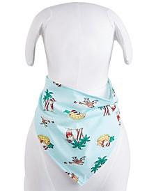 Matching Tropical Santa Pet Bandana, Created for Macy's