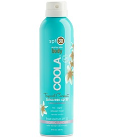Eco-Lux Tropical Coconut Sunscreen Spray SPF 30, 8 oz.