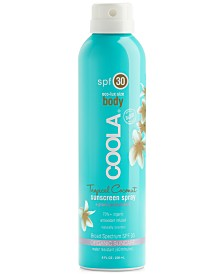Coola Eco-Lux Tropical Coconut Sunscreen Spray SPF 30, 8 oz.