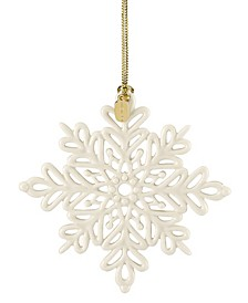 2019 Snow Fantasies Snowflake Ornament