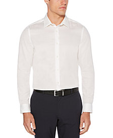 Perry Ellis Men's Big & Tall Slim-Fit Stain-Resistant Water-Repellent Dobby Shirt