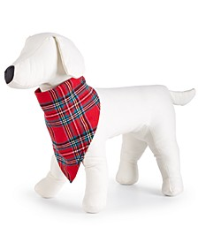 Matching Brinkley Plaid Pet Flannel Bandana, Created For Macy's