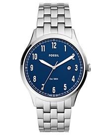 Men's Forrester Stainless Steel Bracelet Watch 42mm