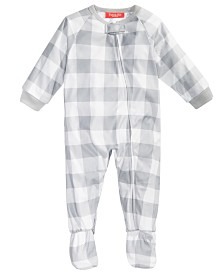 Matching Family Pajamas Baby Bear Footed Pajamas, Created For Macy's