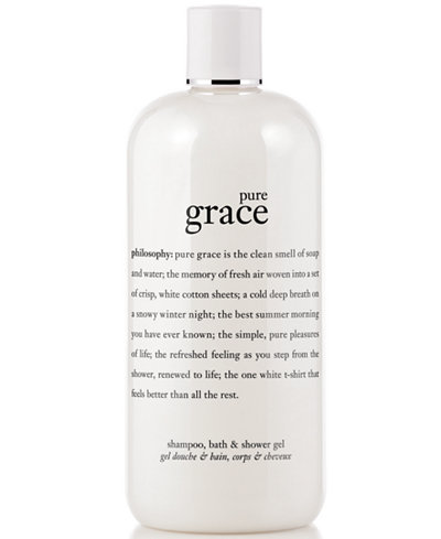 Philosophy Pure Grace 3 In 1 Shampoo Shower Gel And Bubble Bath